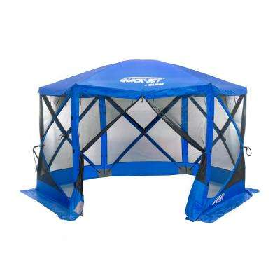 Quickset Escape 6-Side Blue Sport Screen Shelter