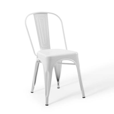 Promenade Bistro White Dining Side Chair (Set of 2)