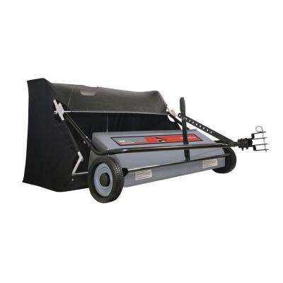 Professional Grade 50 in. 26 cu. ft. Extra Wide Lawn Sweeper