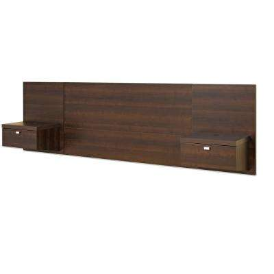 Series 9 1-Piece Espresso Queen Bedroom Set