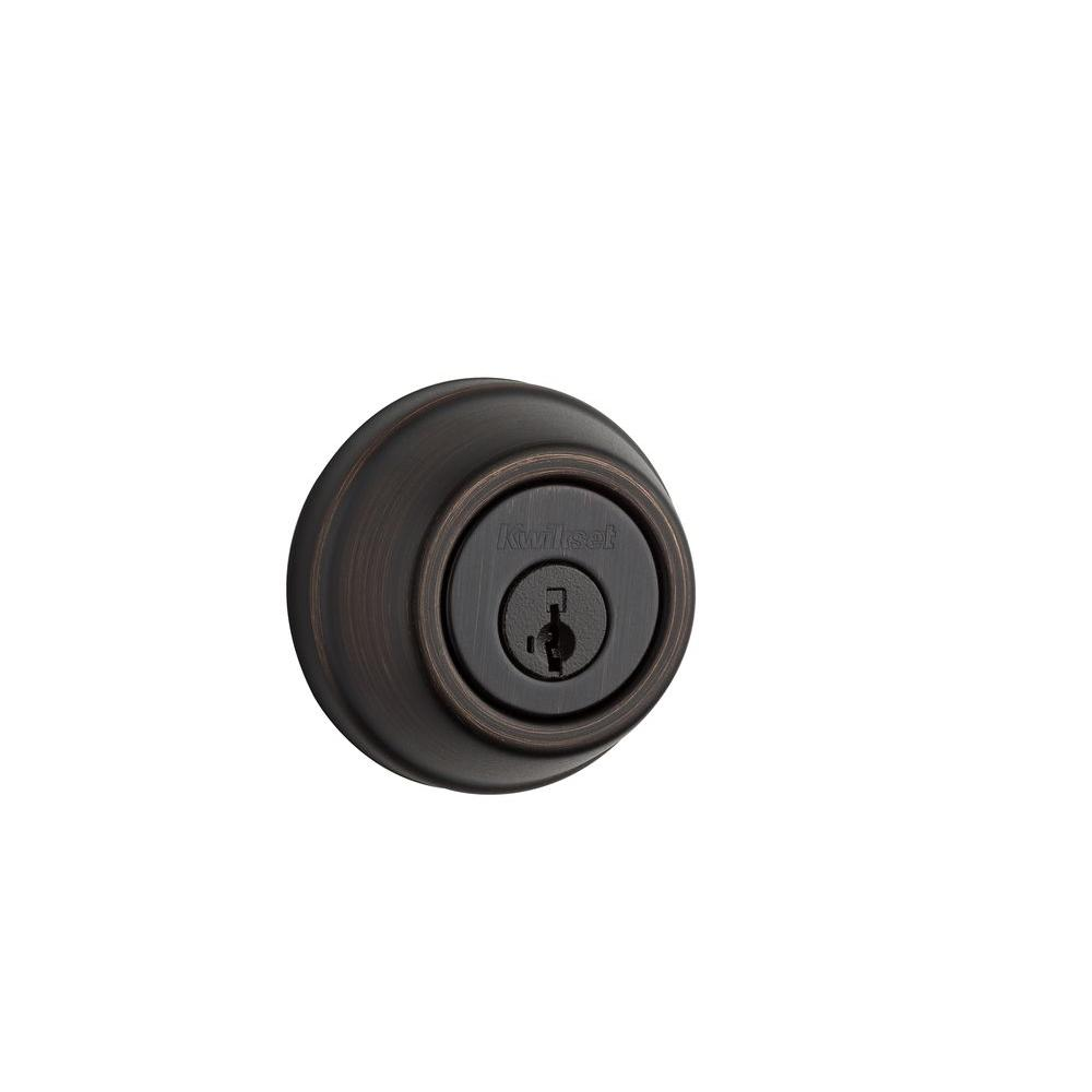 910 Signature Series Single Cylinder Traditional Venetian Bronze Deadbolt with