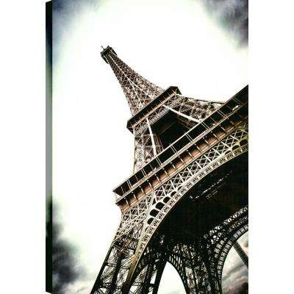 Eiffel, Landscape Art, Canvas Print Wall Art Dcor 36X24 Ready to hang by ArtMaison.ca