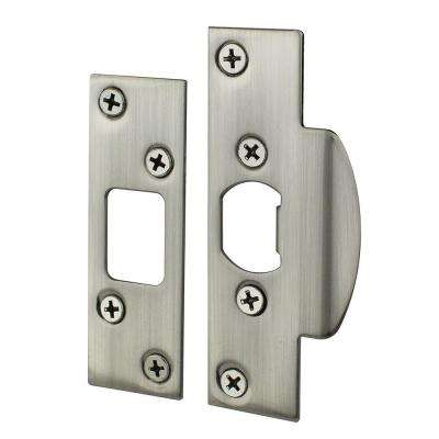 Satin Nickel Security Strike Kit