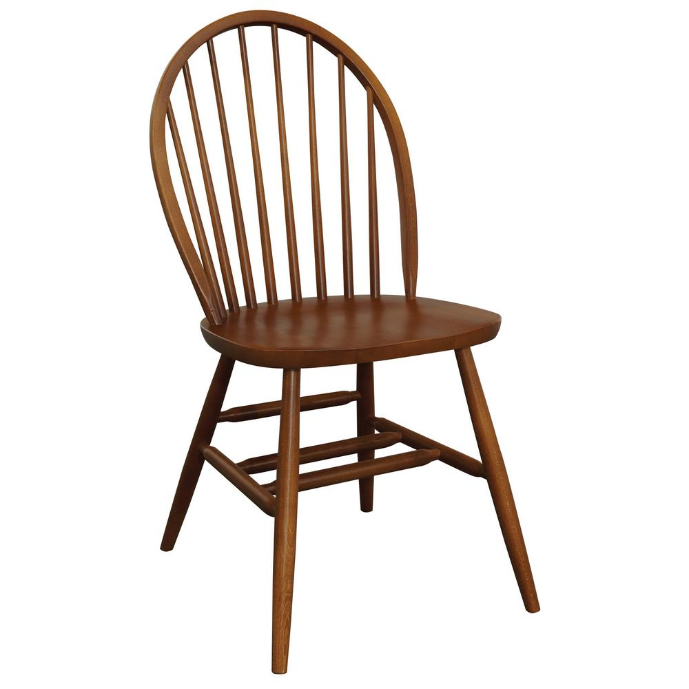 Bow Chestnut Back Chair  sc 1 st  Home Depot & Bow Chestnut Back Chair-4001700 - The Home Depot