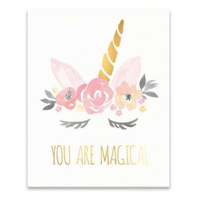 """You Are Magical Unicorn"" by Lot26 Studio Printed Canvas Wall Art"