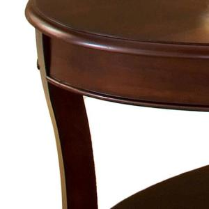 Internet 304250992 Steve Silver Troy Medium Cherry Traditional Tail Table