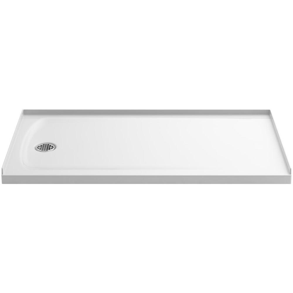 Ballast 60 in. x 32 in. Single Threshold Shower Base in