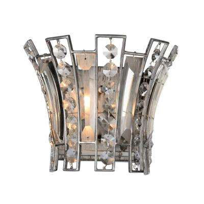 Nile 1-Light Antique Forged Silver Sconce