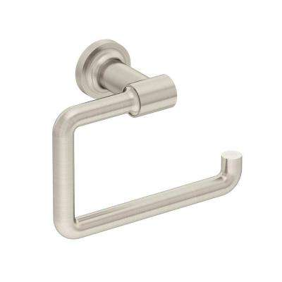 Museo Hand Towel Holder in Satin Nickel