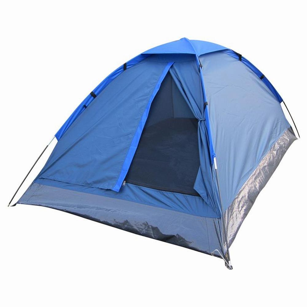 3-Person Dome Tent in Blue