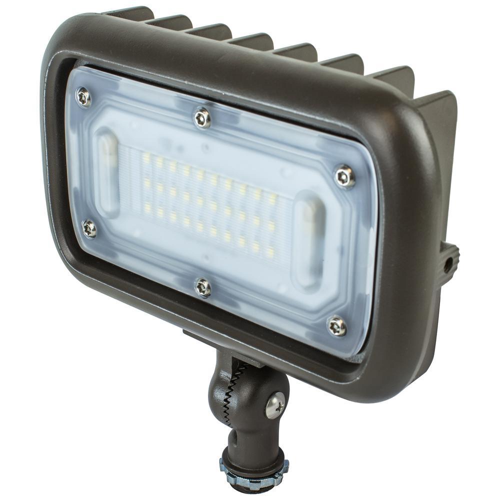 Newhouse Lighting 30-Watt Bronze Outdoor Integrated LED