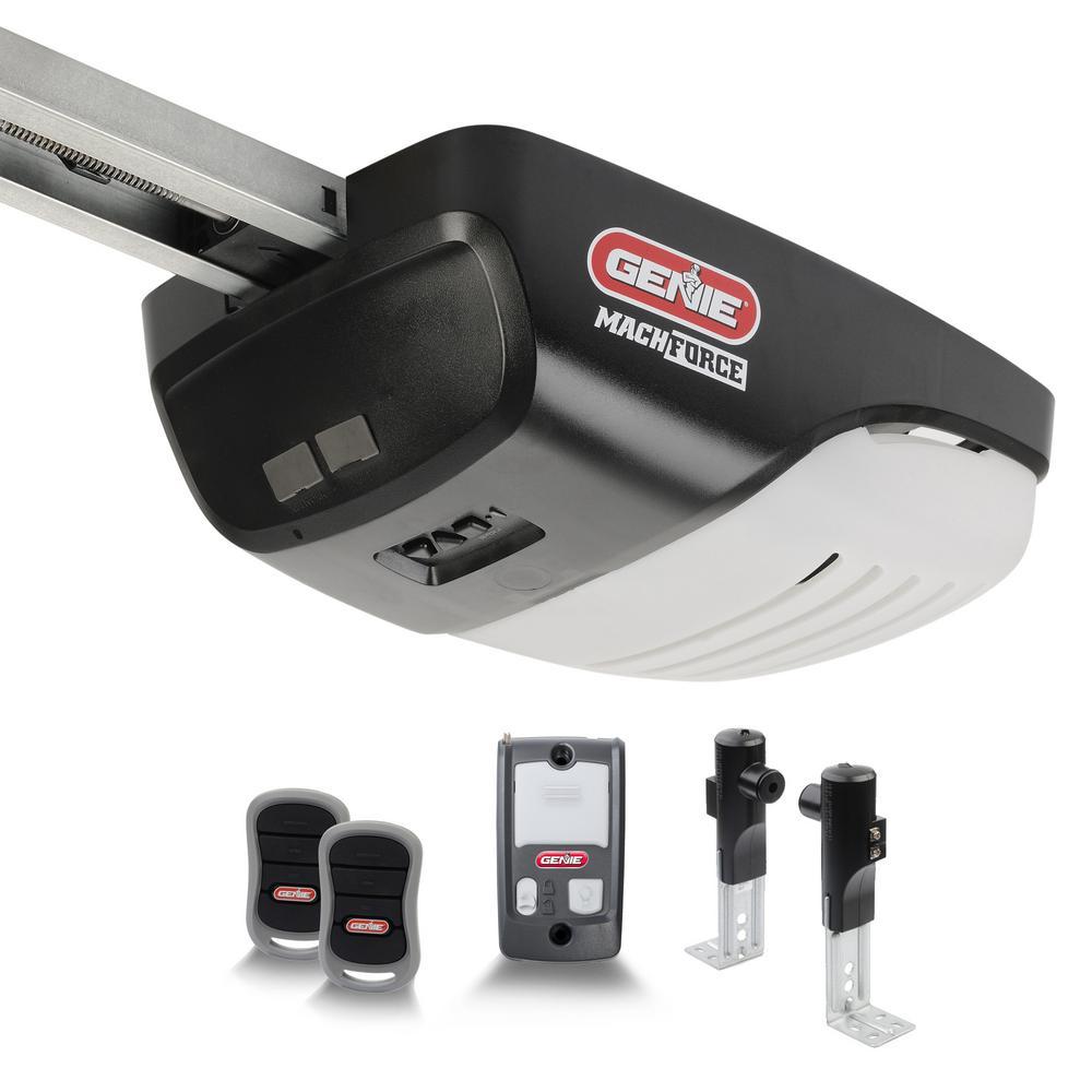 MachForce 2 HPc Premium Garage Door Opener - Exclusive Screw Drive - Ultimate Strength and Speed w/ a 140-Volt DC Motor