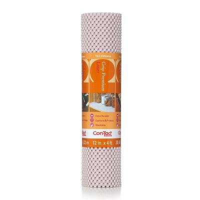 Grip Premium 12 in. x 4 ft. Wishbone Non-Adhesive Thick Grip Drawer and Shelf Liner (6-Rolls)