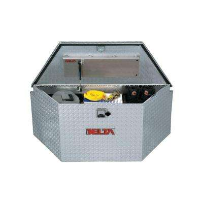 33 in. Aluminum Trailer Tongue Boxes