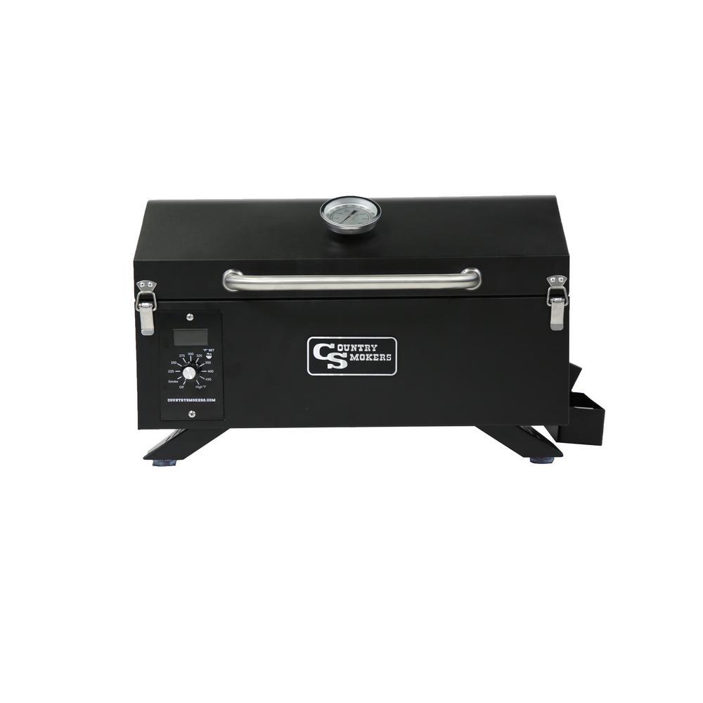 Frontier Series – Traveler 150 sq. in Portable Wood Pellet in Black