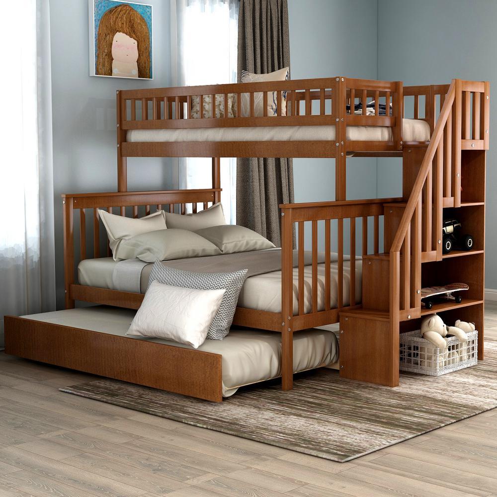 Bunk & Loft Beds - Kids Bedroom Furniture - The Home Depot