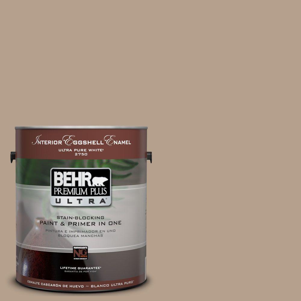 BEHR Premium Plus Ultra 1-Gal. #UL160-18 Chateau Interior Eggshell Enamel Paint