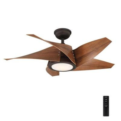 Broughton 42 in. LED Espresso Bronze Ceiling Fan with Remote Control