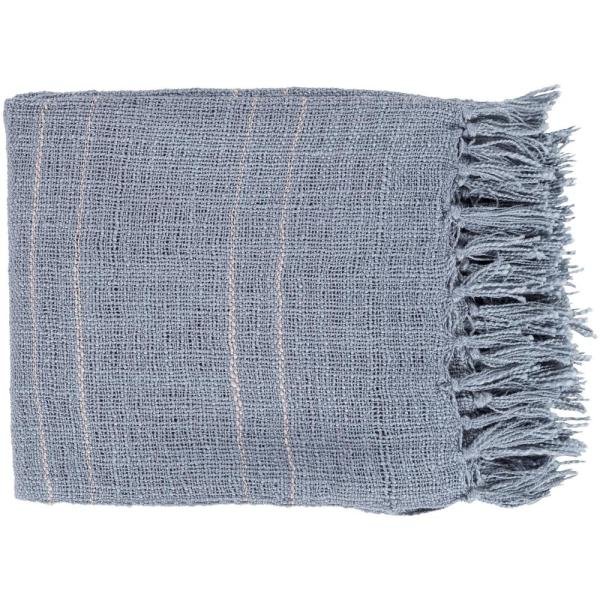 Artistic Weavers Elenora Denim Acrylic Throw S00151045463