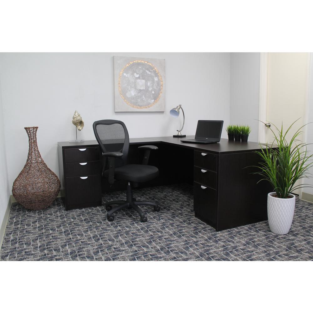 boss black mesh task chair b6508 the home depot