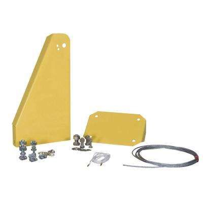Yellow Safety Wall Mount