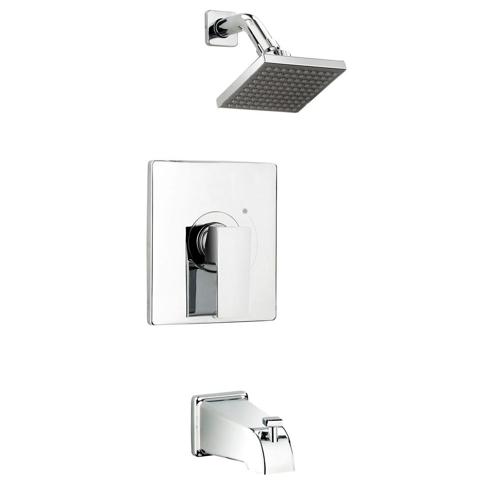 Belanger Single-Handle 1-Spray Tub and Shower Faucet with Rough-In Valve in