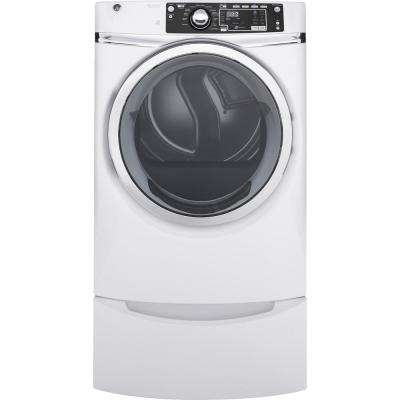 8.3 cu. ft. 120 Volt White Stackable Gas Vented Dryer with Steam, ENERGY STAR