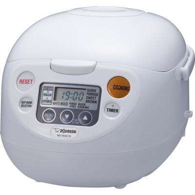 Micom Rice Cooker and Warmer White 5 Cup