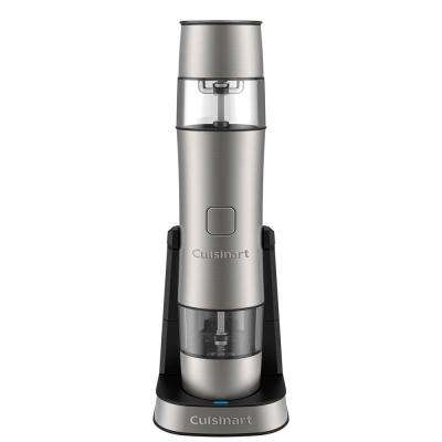 Rechargeable Salt, Pepper and Spice Mill in Stainless Steel