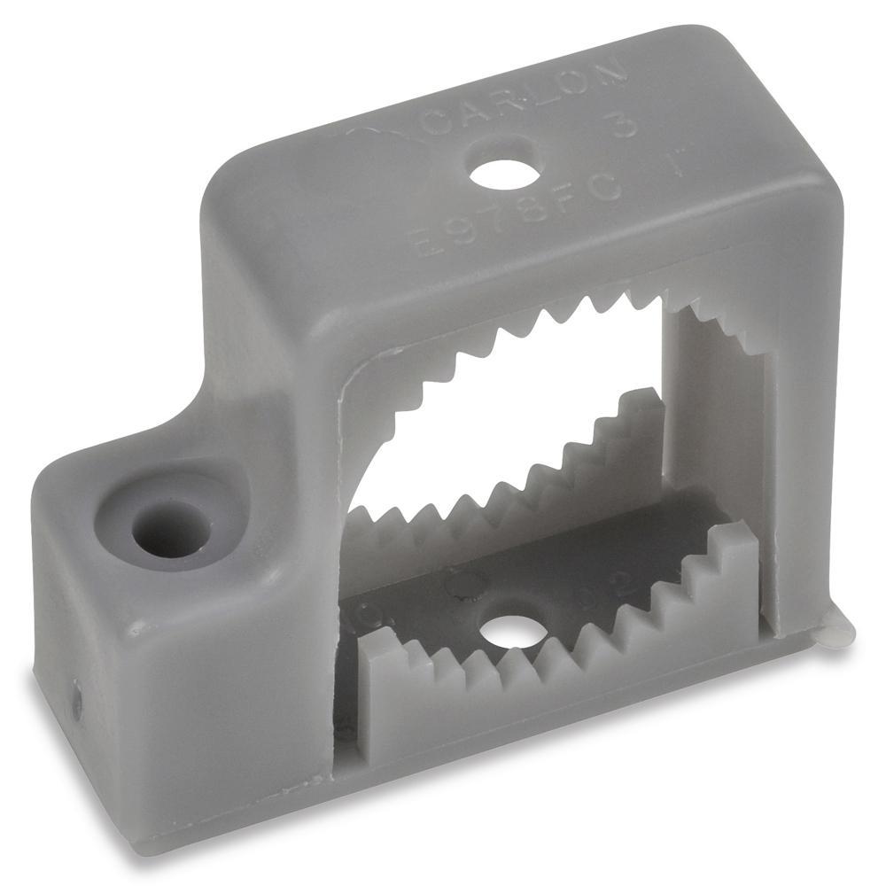 2-Hole PVC Strap E977GCCTN Carlon 1-1//4 In 5-Pack 1 Each