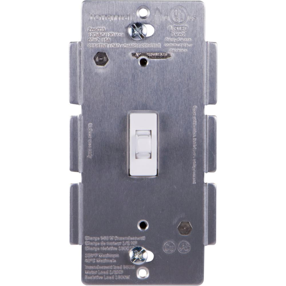 Honeywell Z Wave Plus In Wall Smart Toggle Switch With