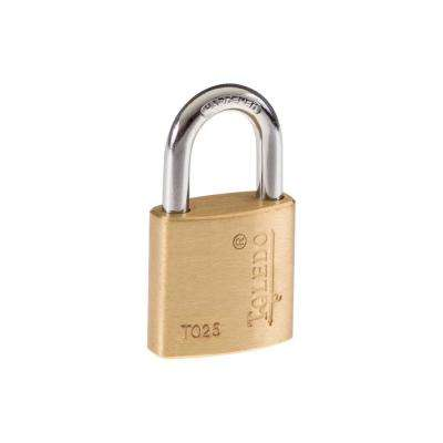 25 mm Brass Keyed Padlock