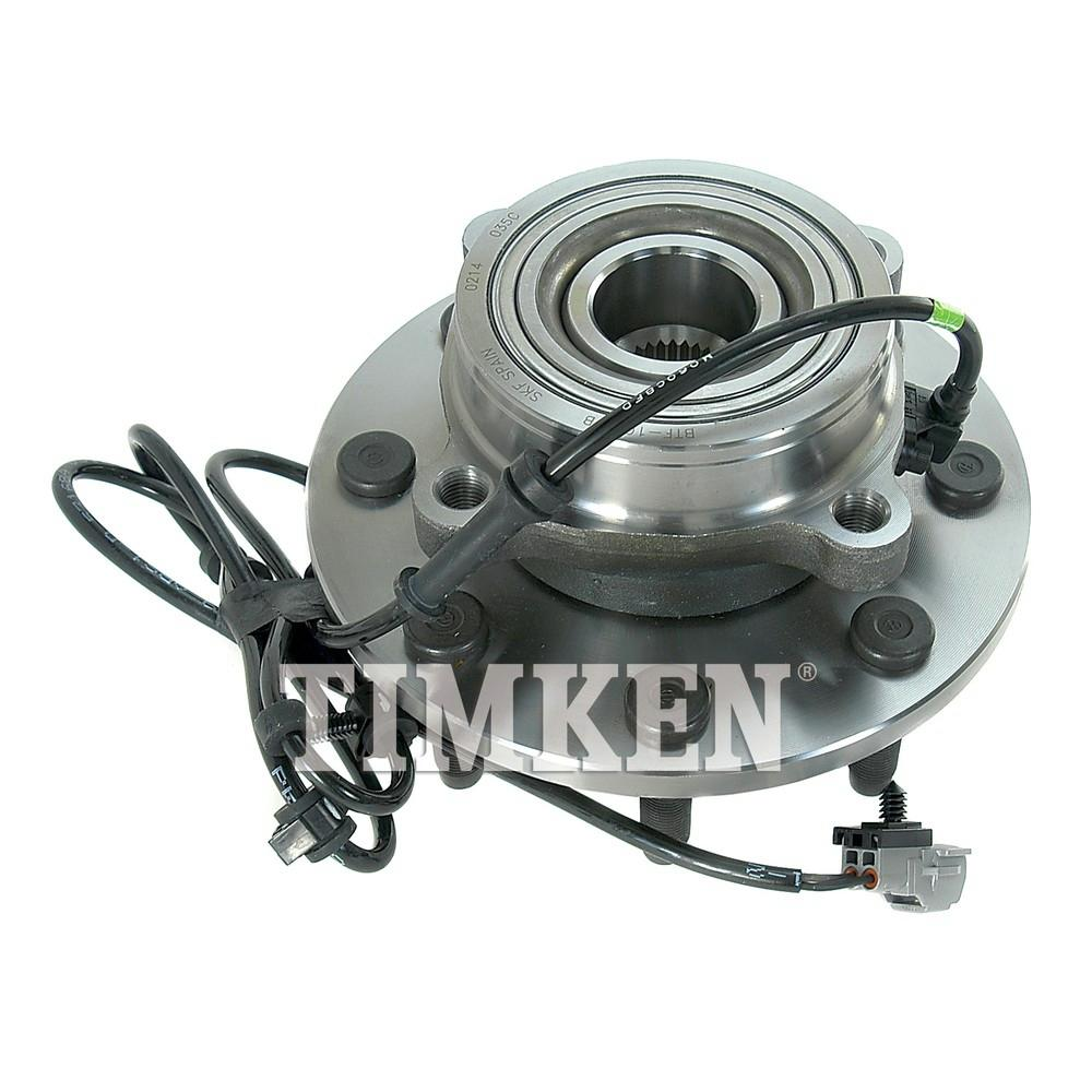 Timken Front Wheel Bearing And Hub Assembly Fits 2000-2002