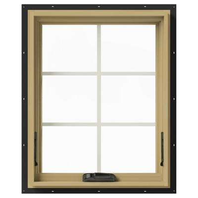 24 in. x 30 in. W-2500 Awning Aluminum Clad Wood Window