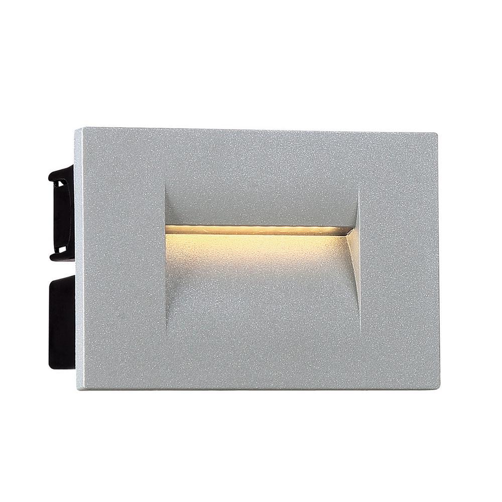 8.5 -Watt 1-Light Marine Grey Integrated LED Outdoor Wall Mount Sconce