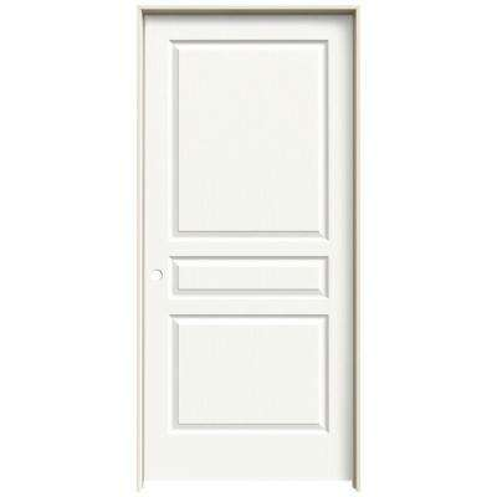 painted closet doors. Avalon White Painted Right-Hand Textured Hollow Core Closet Doors K