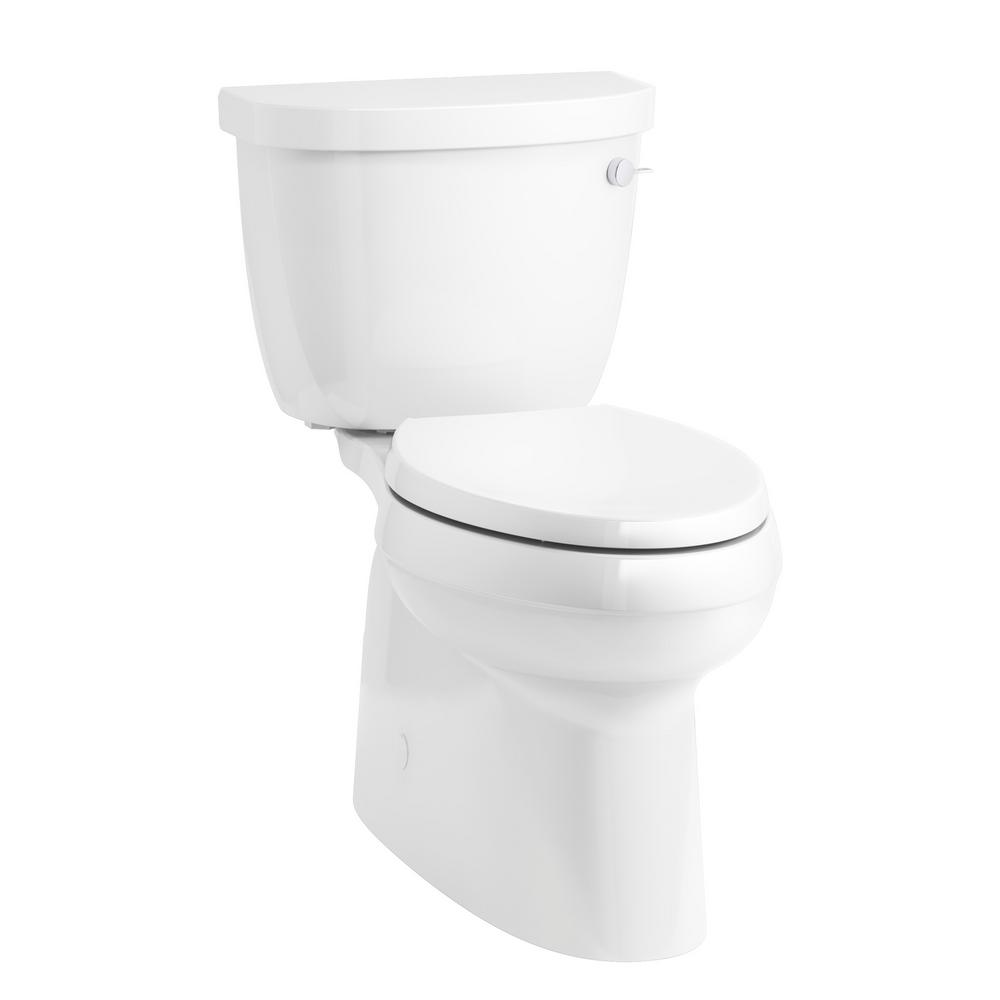 Cimarron Comfort Height 2-Piece 1.28 GPF Single Flush Elongated Toilet with
