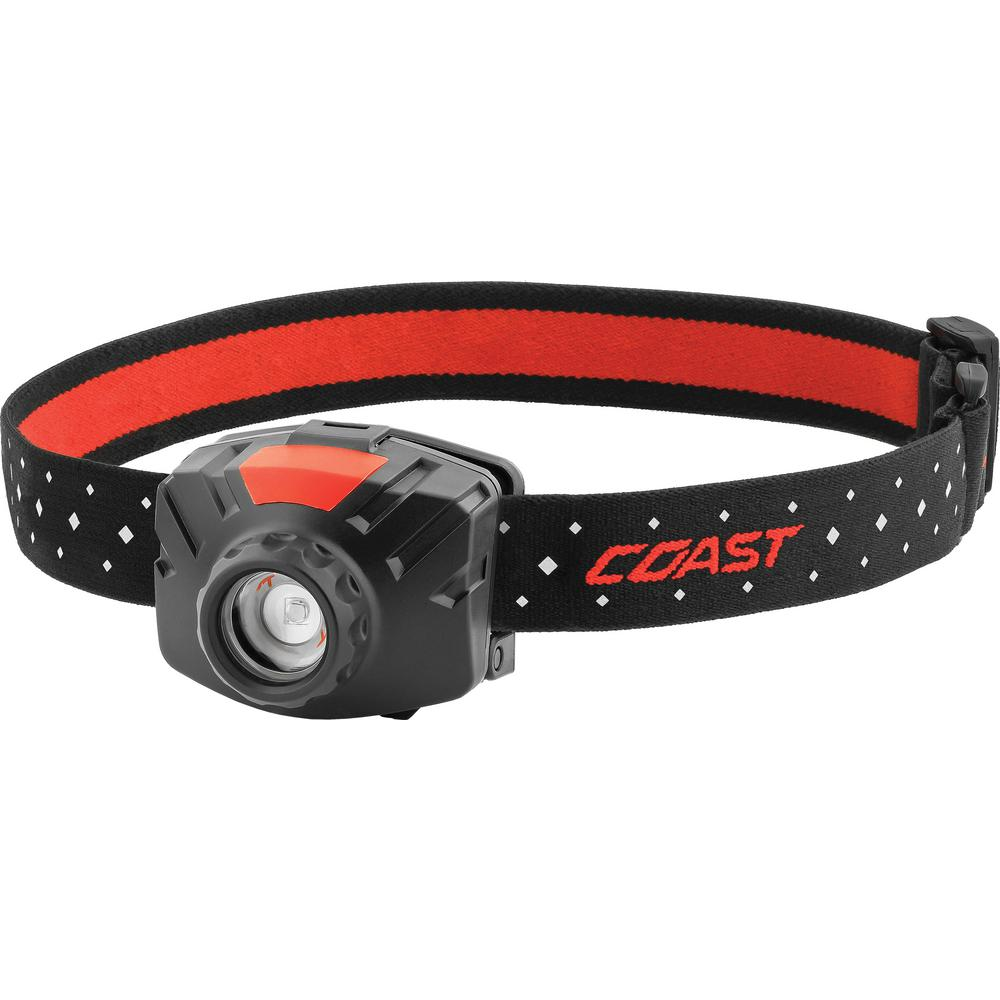 Coast 400 Lumen Wide Angle Flood LED Headlamp