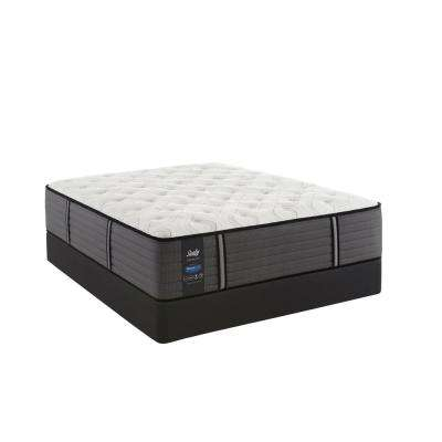 Response Premium 14.5 in. Queen Cushion Firm Tight Top Mattress Set with 9 in. High Profile Foundation