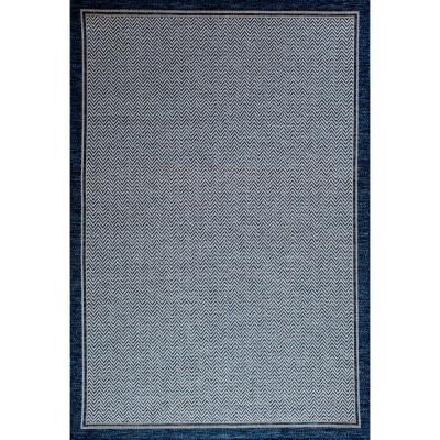 Santorini Dunedin Cobalt 8 ft. x 10 ft. Indoor/Outdoor Area Rug