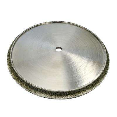 7 in Diamond Profile Wheels 1/2 in Demi Bullnose for Masonry 5/8 in Arbor Fits Tile Saws