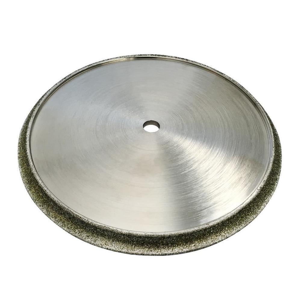 7 in Diamond Profile Wheels 1/2 in Demi Bullnose for Masonry 5/8 in Arbor Fits Tile Saws