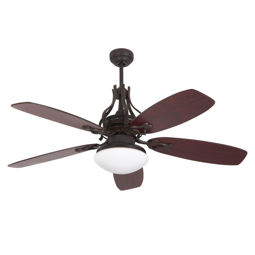 Yosemite Home Decor Parkhill Oil-Rubbed Bronze Ceiling Fan Light Kit