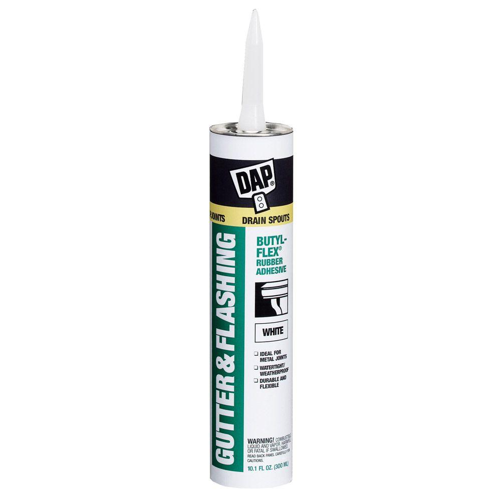 Butyl-Flex 10.1 oz. White VOC Compliant Gutter and Flashing Sealant (12-Pack)