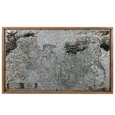 """23.50 in. H """"USA Map"""" Printed Wall Panel"""