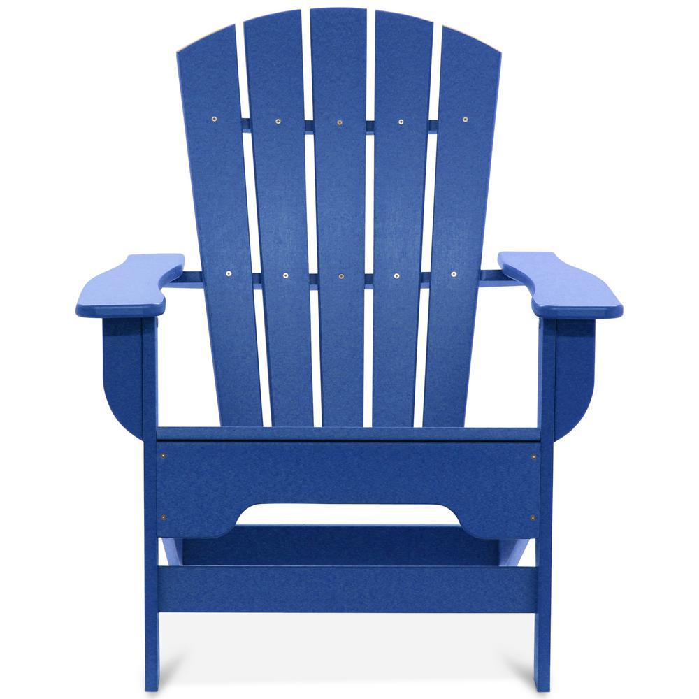 Boca Raton Royal Blue Recycled Plastic Adirondack Chair