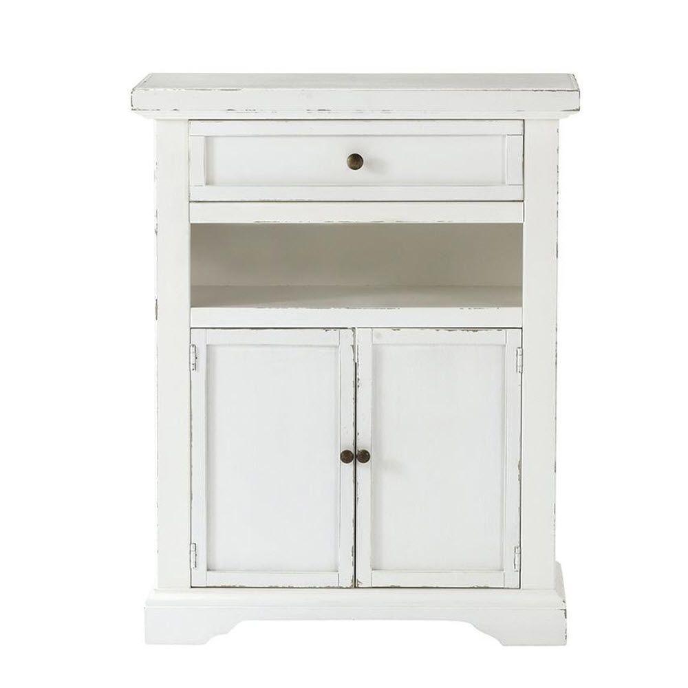 Home Decorators Collection Caitlyn Gustaviano Wash 2-Door Media Stand