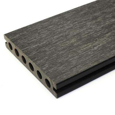 UltraShield Naturale Voyager Series 1 in. x 6 in. x 16 ft. Hawaiian Charcoal Hollow Composite Decking Board (10-Pack)