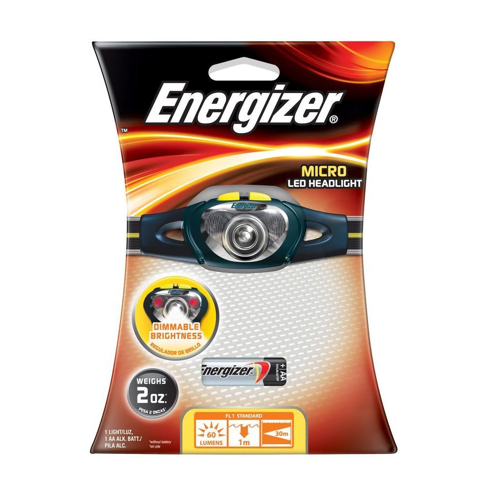 Energizer 1AA 60 Lumen Micro Waterproof Headlight-DISCONTINUED