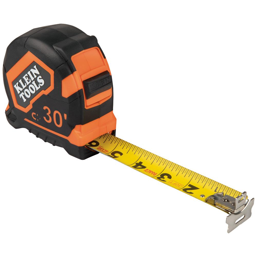 Klein Tools 30 ft. Magnetic Double-Hook Tape Measure